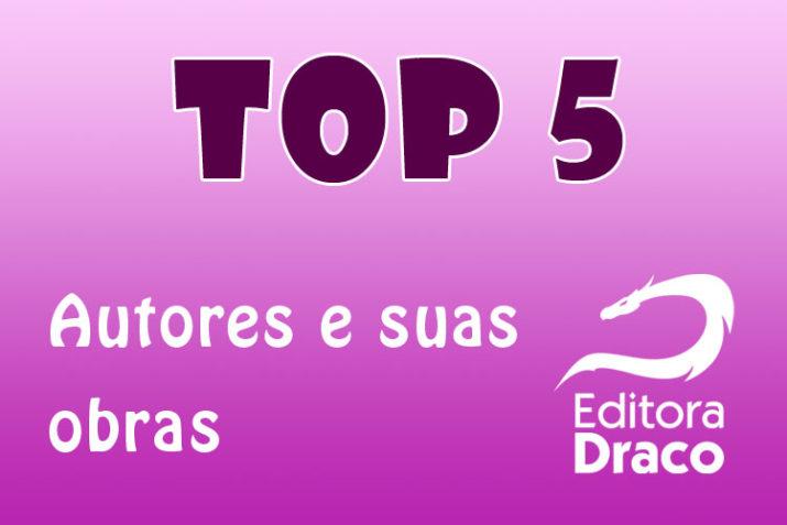 Top 5 - autores e livros